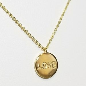 Jewelry - NEW 925 Sterling Silver LOVE Choker Necklace